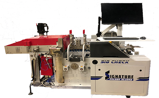 SIG-CHECK Signature Folder Gluer print inspection system