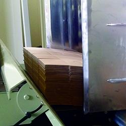 Signature Folder Gluer Albatross SL corrugated folder gluer feeder section