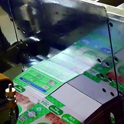 Signature Folder Gluer Albatross SL corrugated folder gluer spanker