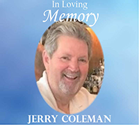 American International Machinery Co-Founder Jerry Coleman Passes Away
