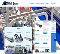 American International Machinery Signature Folder Gluer New Redesigned Website